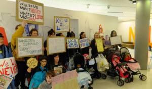 E15mums protest