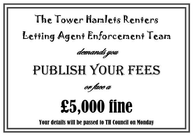 £5000 fine certificate